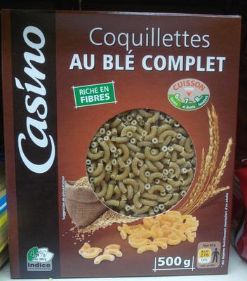 Coquillettes au Blé Complet - Produit - fr