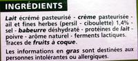 Ailladou Ail et fines herbes - Ingrédients - fr