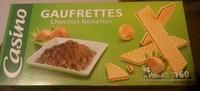 Gaufrettes Chocolat Noisettes - Product - fr