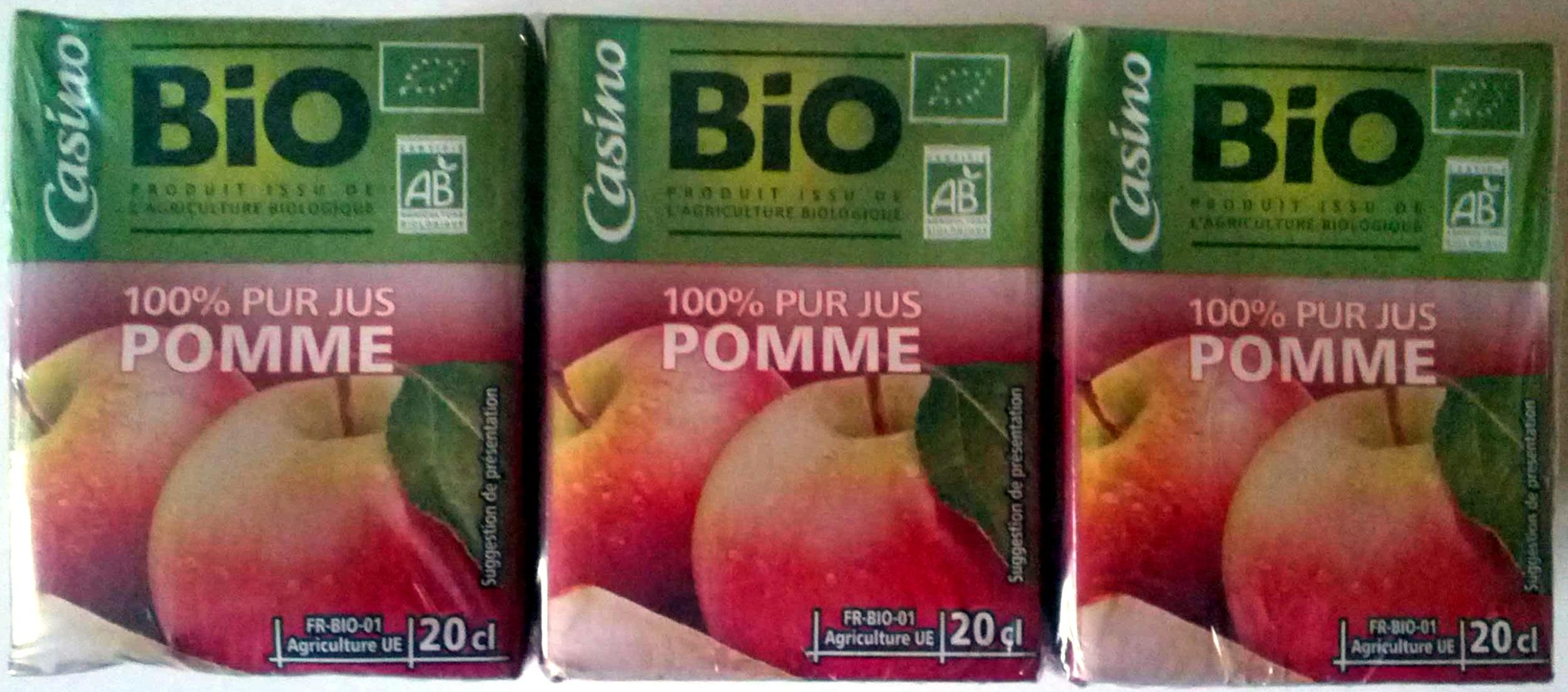 100% pur jus de pomme - Produit - fr