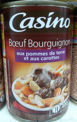 Boeuf bourguignon aux pommes de terre et aux carottes - Product - fr
