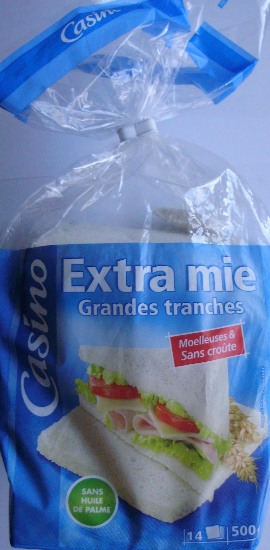 Pain de mie - sans croûte - 14 tranches - Product