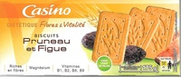 Biscuits Pruneau et Figue - Product - fr
