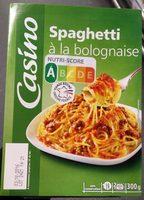 Spaghetti bolognaise - Product - fr