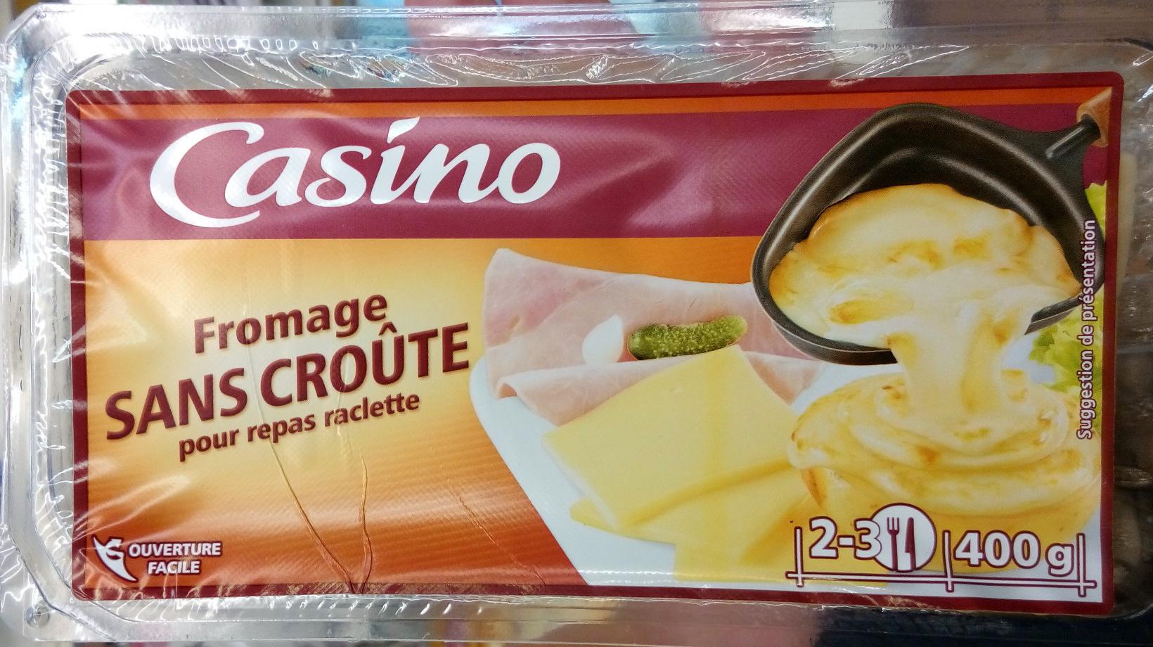 Fromage sans cro te pour repas raclette 28 mg casino 400 g - Quantite de fromage par personne ...
