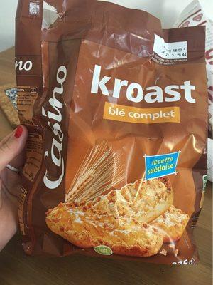 KROAST Blé Complet - recette suédoise - Prodotto - fr