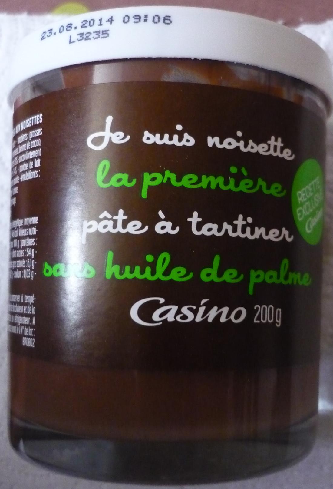 p 226 te 224 tartiner sans huile de palme casino 200 g