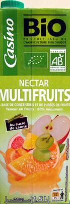 Nectar Multifruits À Base de Concentrés et de Purées de Fruits - Product - fr