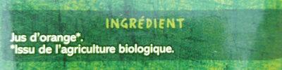 100% Pur jus orange - Ingrediënten