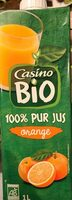 100% Pur jus orange - Información nutricional - fr