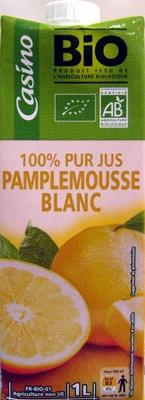 100 % Pur Jus Pamplemousse blanc - Produit - fr