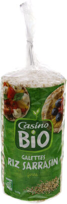 Galettes riz sarrasin - fines - Product - fr