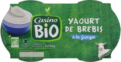 Yaourt de brebis à la grecque Biologique - Product - fr