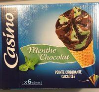 Cônes Menthe Chocolat - Product - fr