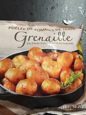 Pommes de terre Grenaille - à l'huile d'olive (6%) et au sel de Guérande - Product