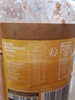 Sauce vinaigrette Echalote & moutarde - Voedingswaarden