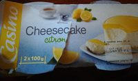 Cheesecake Citron - Product