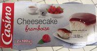 Cheesecake Framboise - Produit - fr