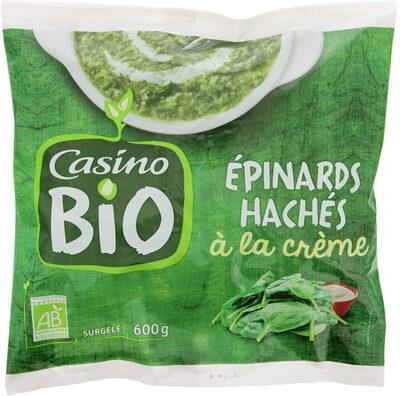 Epinards hachés à la crème Bio - Product