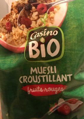Muesli croustillant aux fruits rouges - Product - fr