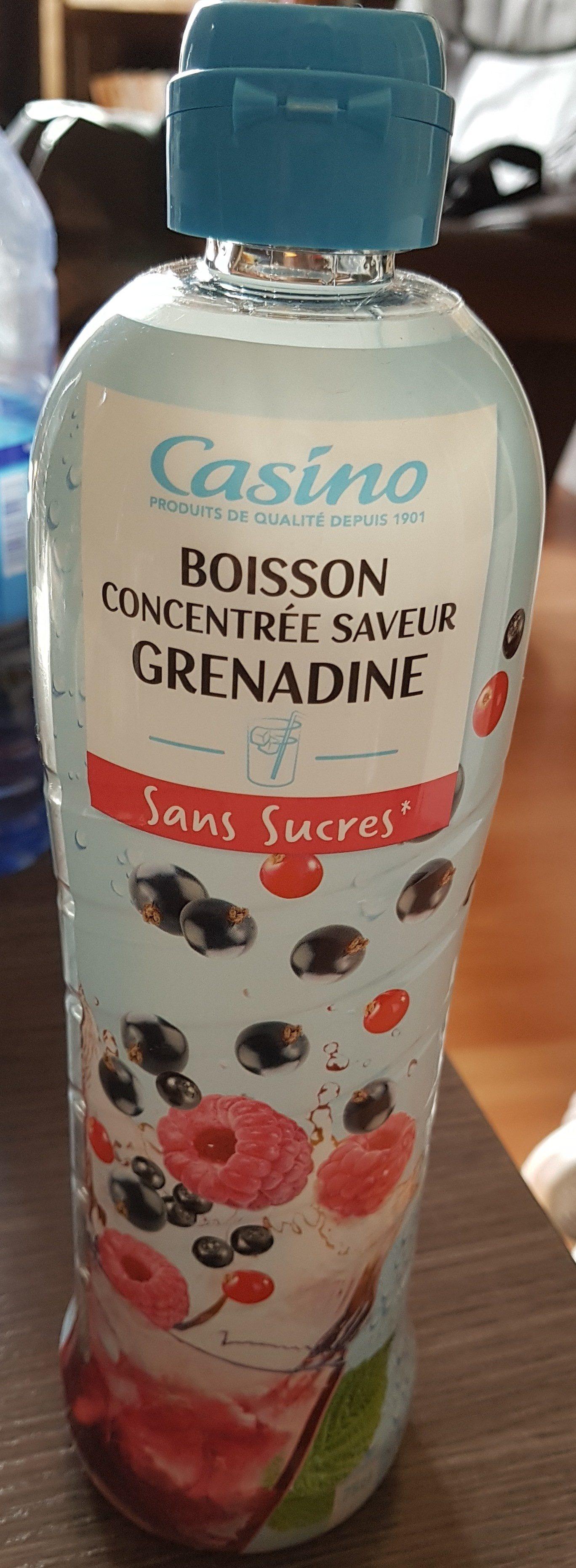 sans sucres grenadine - Produit