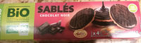 Sablés chocolat noir - Produit