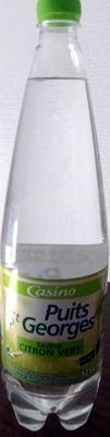 PUITS ST GEORGES CITRON Saveur citron vert- sans sucres - Produit