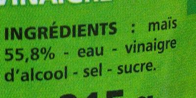 Epis de Maïs - Ingrediënten