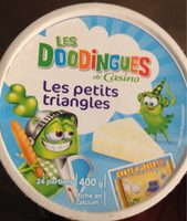 Fromage fondu Les Petits Triangles - 24 portions - Product