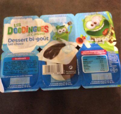 Dessert bi-goût lait-choco - Product - fr
