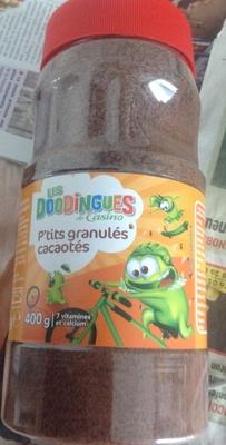 P'tits granulés cacaotés 400 g - 7 vitamines et calcium - les doodingues de casino - Produit - fr