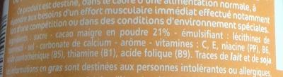 P'tits granulés cacaotés 400 g - 7 vitamines et calcium - les doodingues de casino - Ingrédients - fr