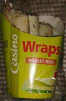 Wraps Poulet Roti - Product - fr