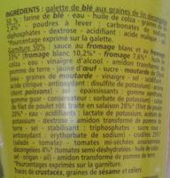 Wraps Poulet Roti - Ingredients - fr