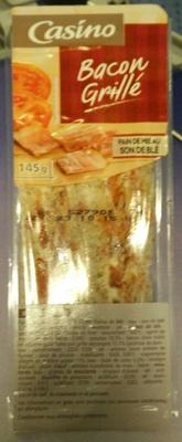 Club bacon grillé - pain de mie au son grillé - Produit