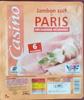 Jambon cuit de Paris Découenné - Dégraissé - Product