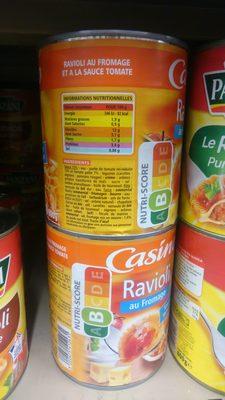 Ravioli au fromage sauce tomate - Produit