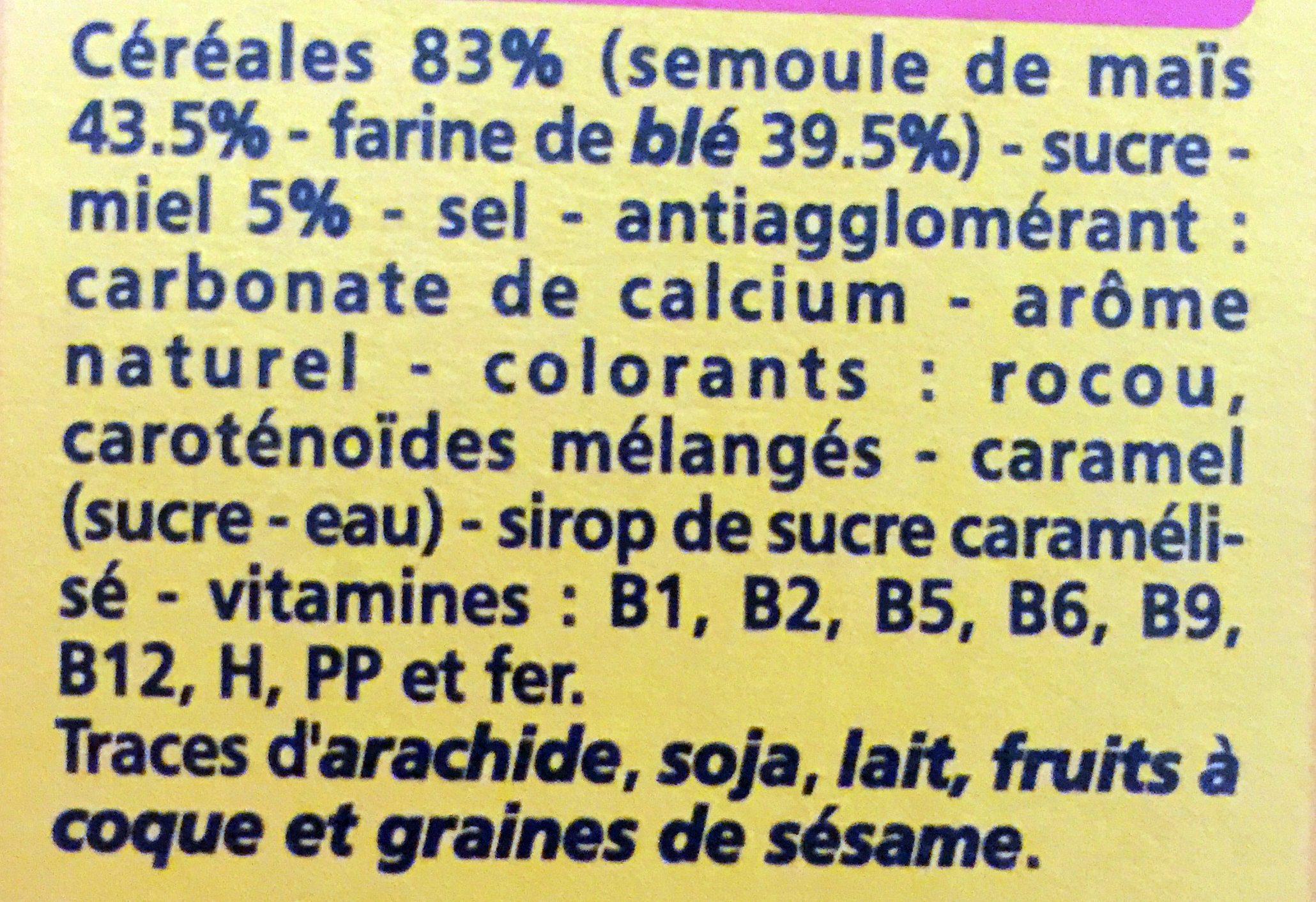 P'tites Billes Miel - Ingrediënten - fr