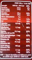P'tits grains choco - Informations nutritionnelles - fr