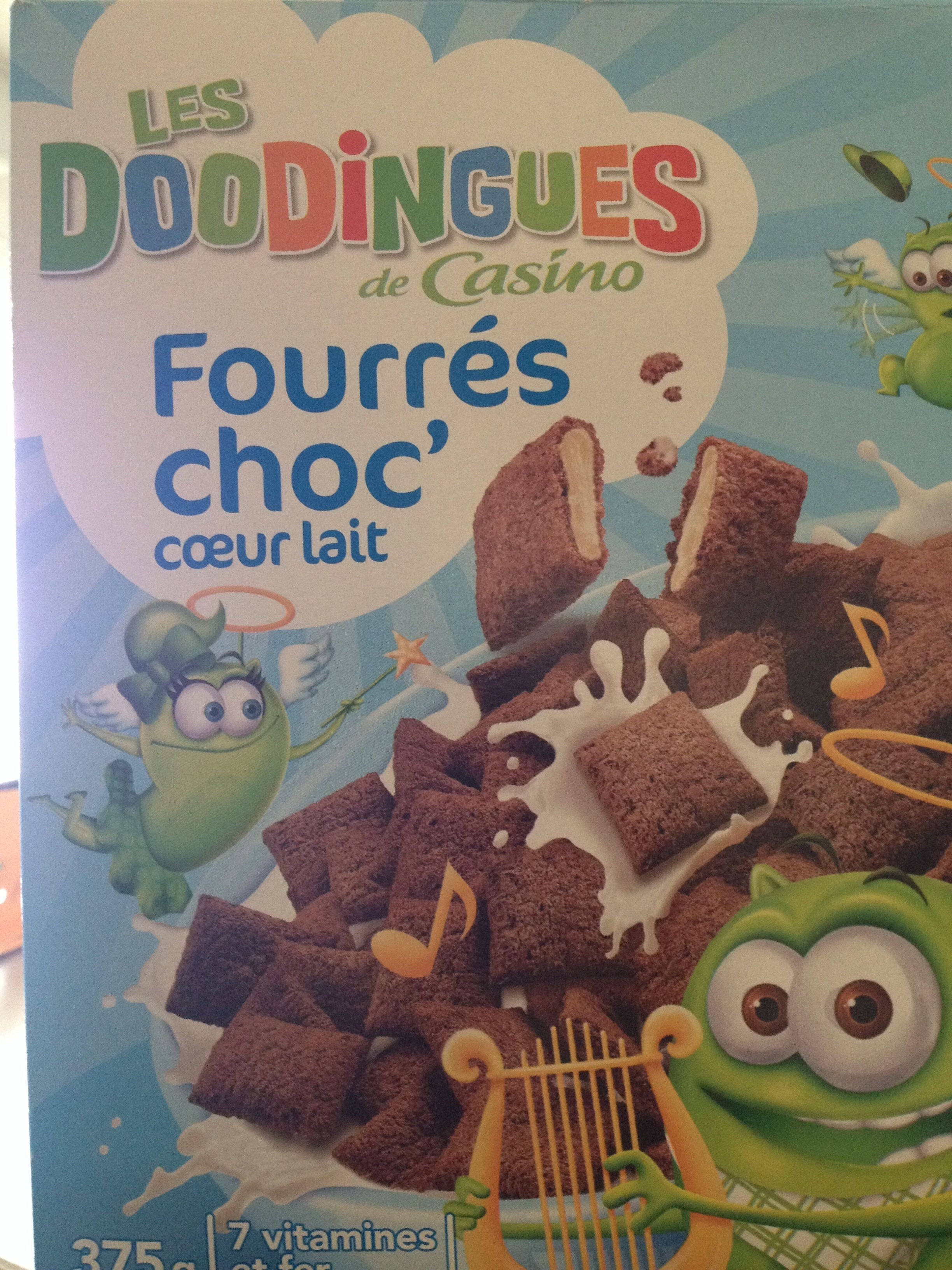 Fourés choc' coeur lait - Produit