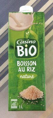 Boisson au riz nature - Produit