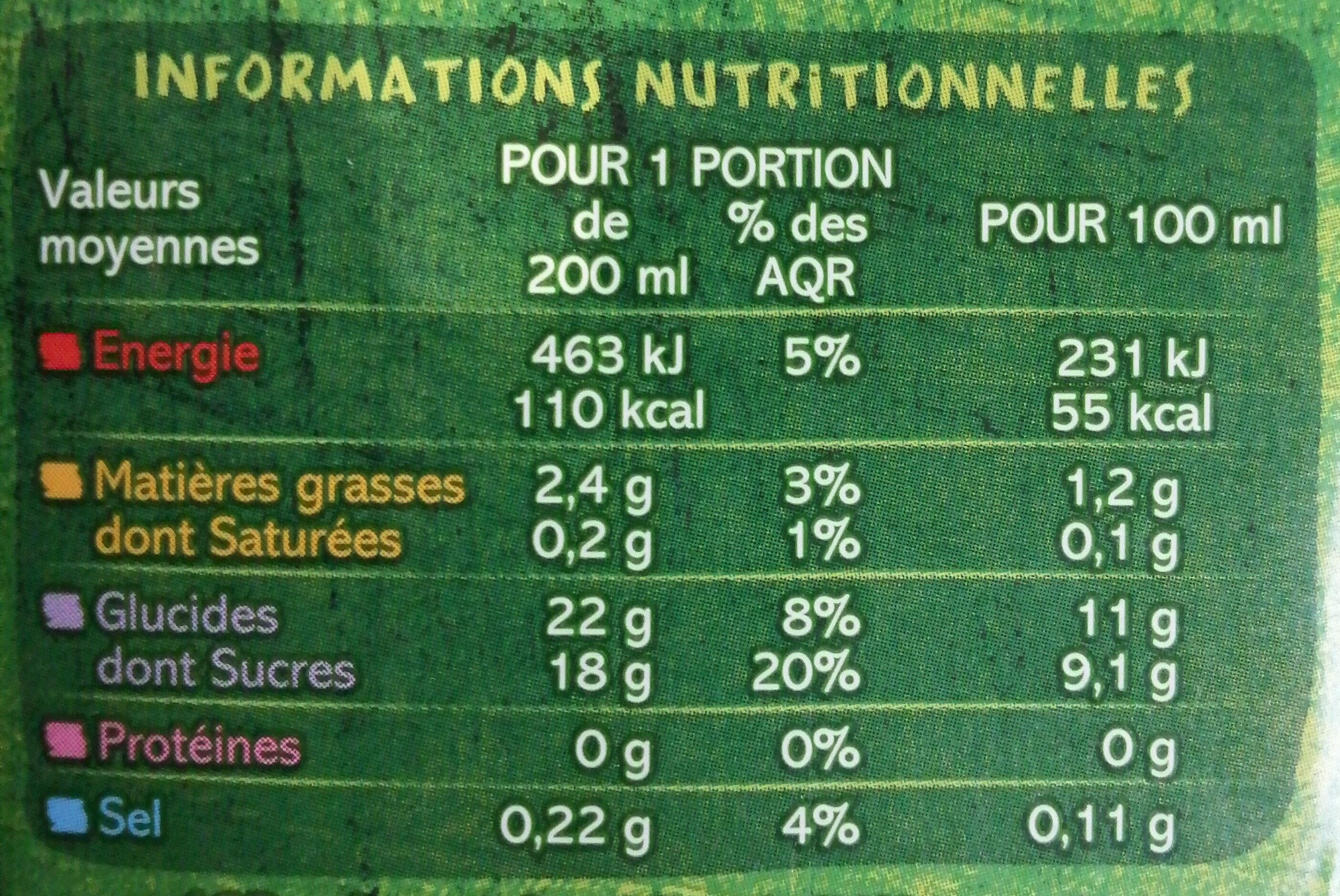 Boisson au riz nature - Ingrediënten - fr