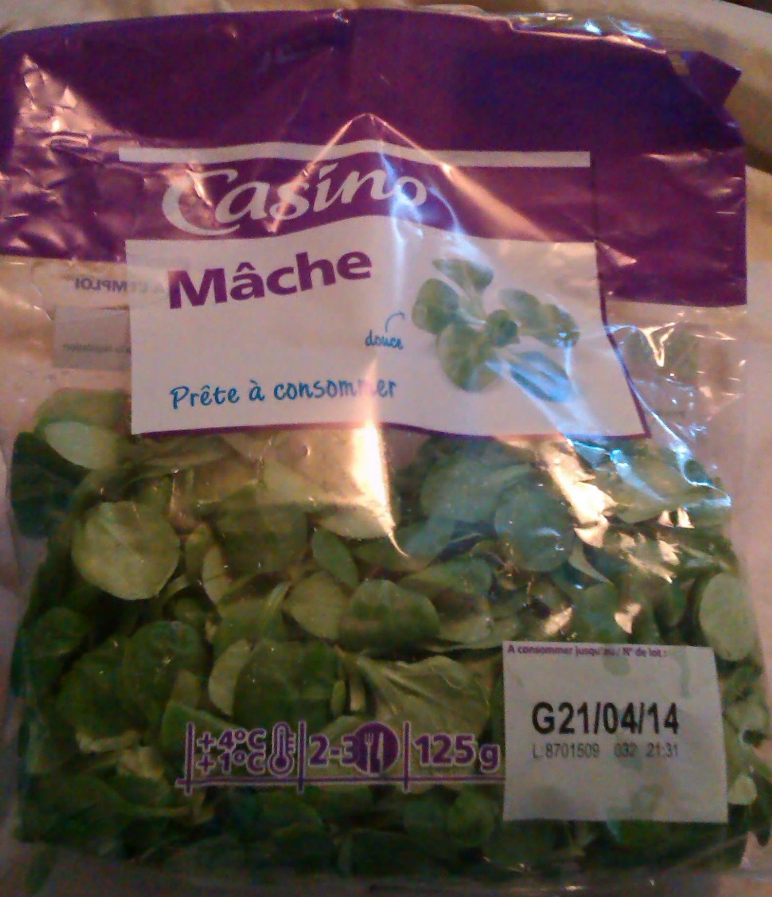 Mâche, Prête à consommer (2-3 portions) - Product - fr