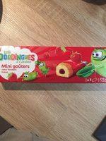 Mini goûters coeur fondant fraise - Product