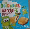 Barres coeur gout choco - Product