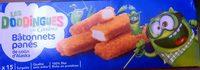 Bâtonnets de filets de colin d'Alaska panés - Produit - fr