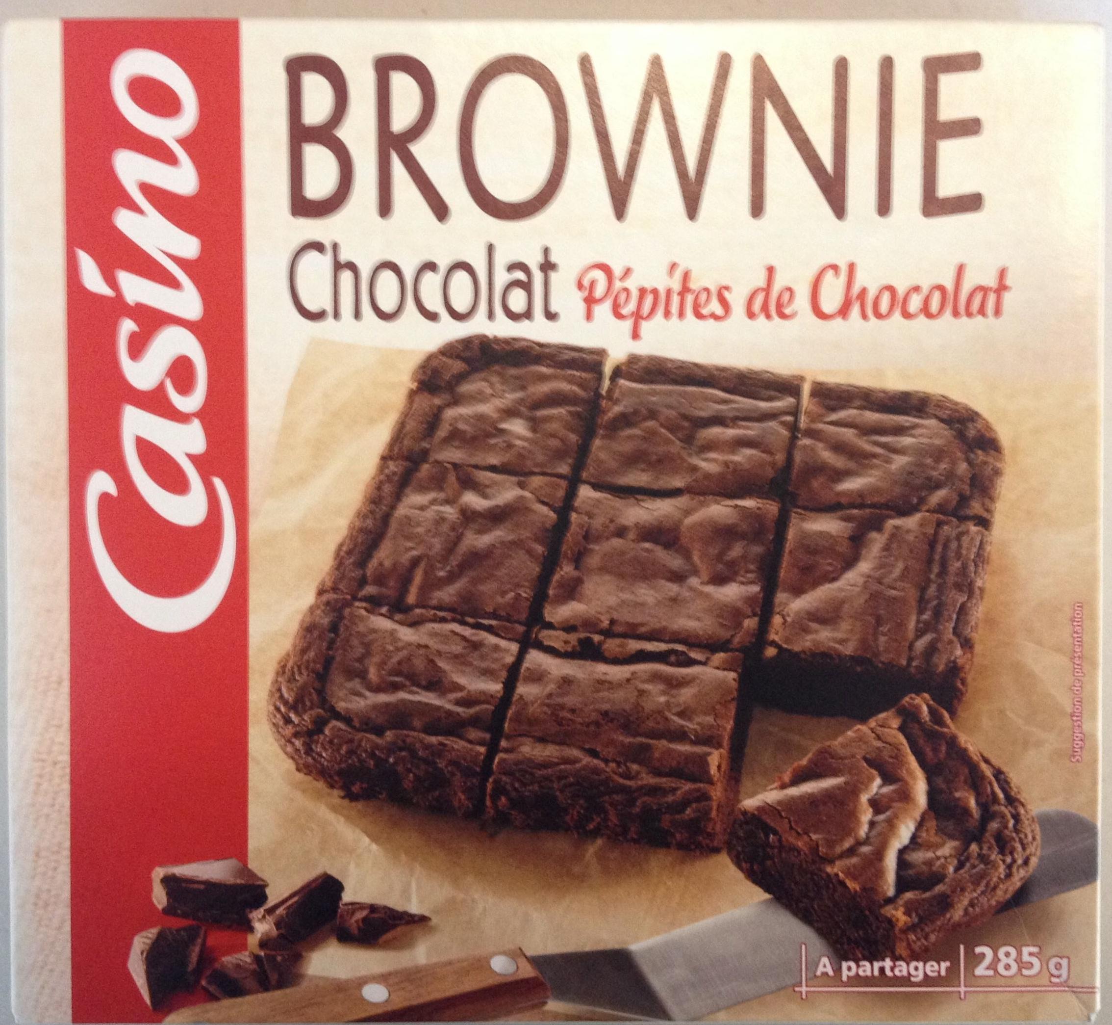 brownie chocolat p pites de chocolat casino 285 g. Black Bedroom Furniture Sets. Home Design Ideas