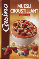 Muesli Croustillant Fruits rouges - Product