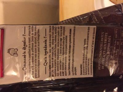 Muesli Croustillant Fruits rouges - Ingredients