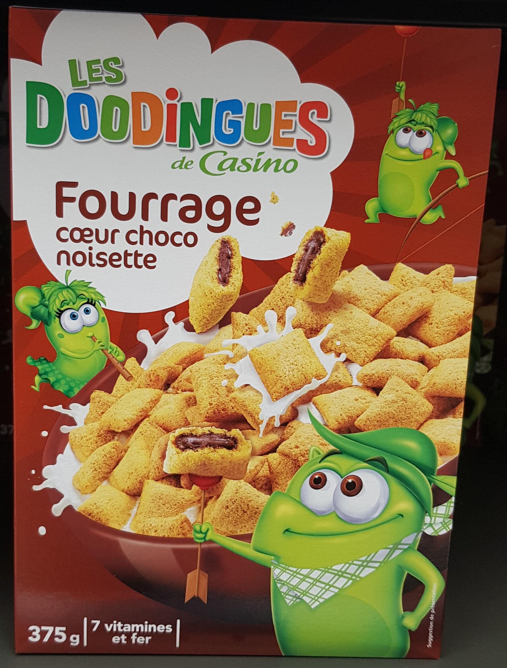 Céréales fourrage chocolat noisette - Produit - fr